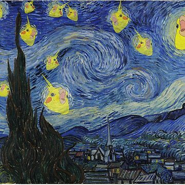 Cockatiel Starry Night by FandomizedRose