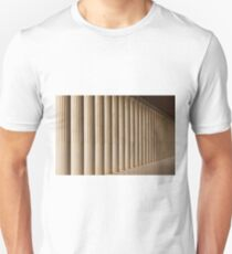 Stoa of Attalos marble colonnade and ceiling T-Shirt