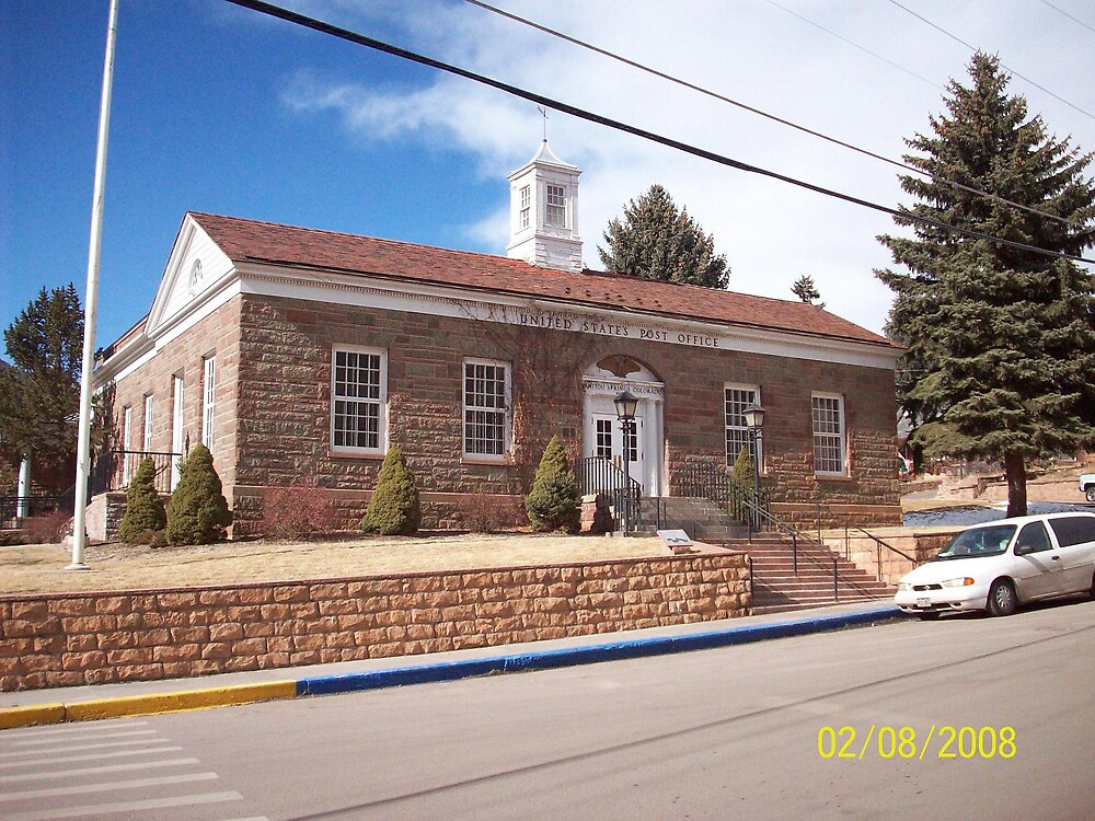 Manitou Springs Post Office by HungarianGypsy
