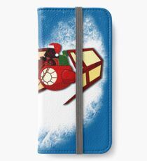 Walking in a Winter Vaderland iPhone Wallet