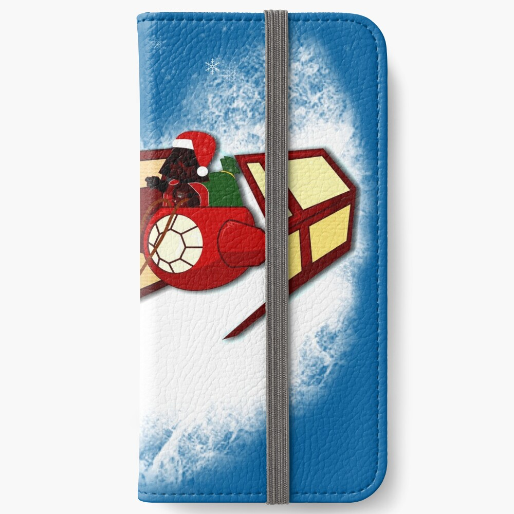 Wandern in einem Winter Vaderland iPhone Flip-Case