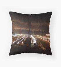 Through glass Throw Pillow