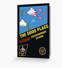 The good place - Pretendo Pixel art Greeting Card