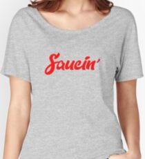 saucin Women's Relaxed Fit T-Shirt