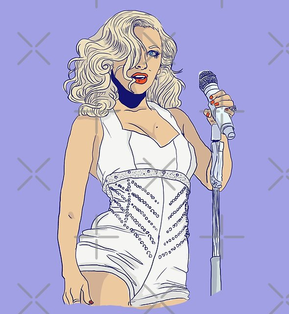 Xtina Baby Jane by guirodrigues