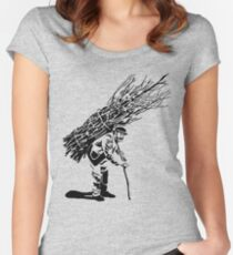 Led Zeppelin IV Women's Fitted Scoop T-Shirt