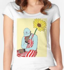 Tyler, the Creator - Flower Boy Art Women's Fitted Scoop T-Shirt