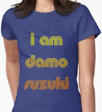 I am Damo Suzuki Women's Fitted T-Shirt