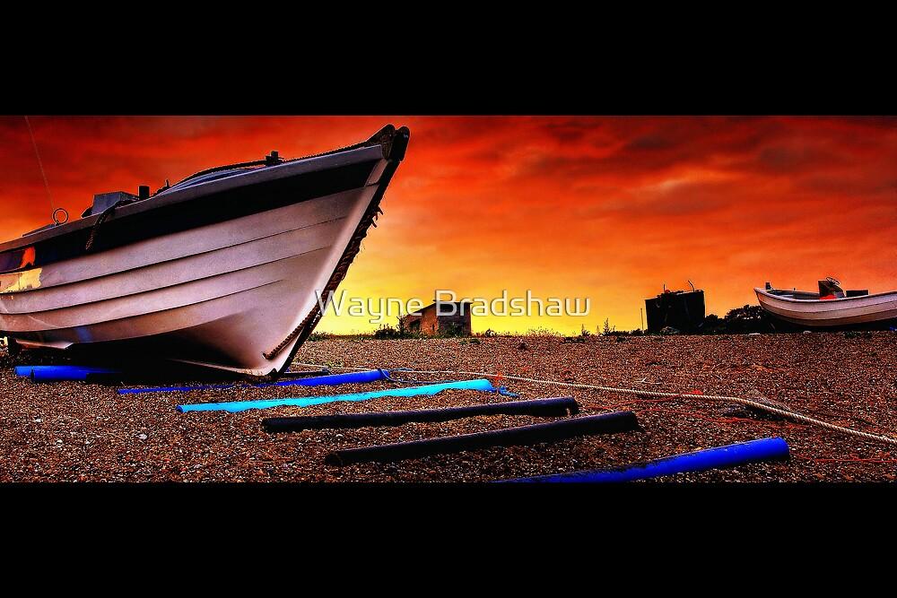 Sizewell Beach Suffolk. by Wayne Bradshaw