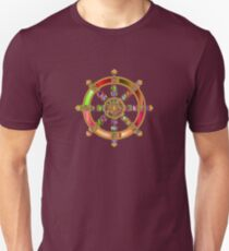 Buddhist dharma wheel prismatic Unisex T-Shirt