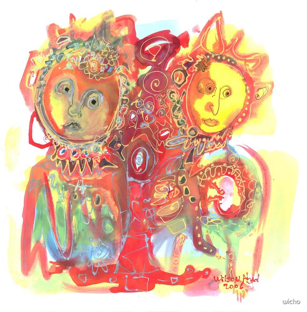Lovers by wicho