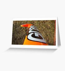 Field Hockey Stick Greeting Card