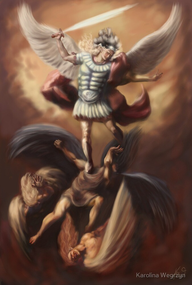 The Fall of the Rebel Angels by Karolina Wegrzyn