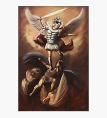The Fall of the Rebel Angels Photographic Print