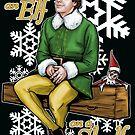 Elf on an Elf on a Shelf by Patrick Scullin