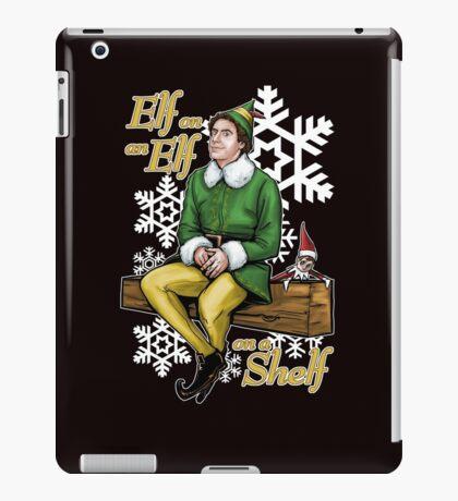 Elf on an Elf on a Shelf iPad Case/Skin