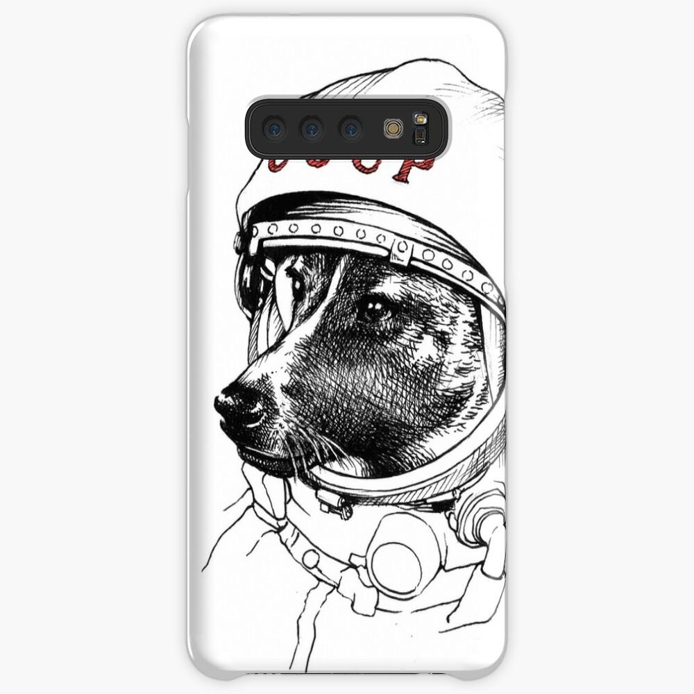 Laika, space traveler Case & Skin for Samsung Galaxy