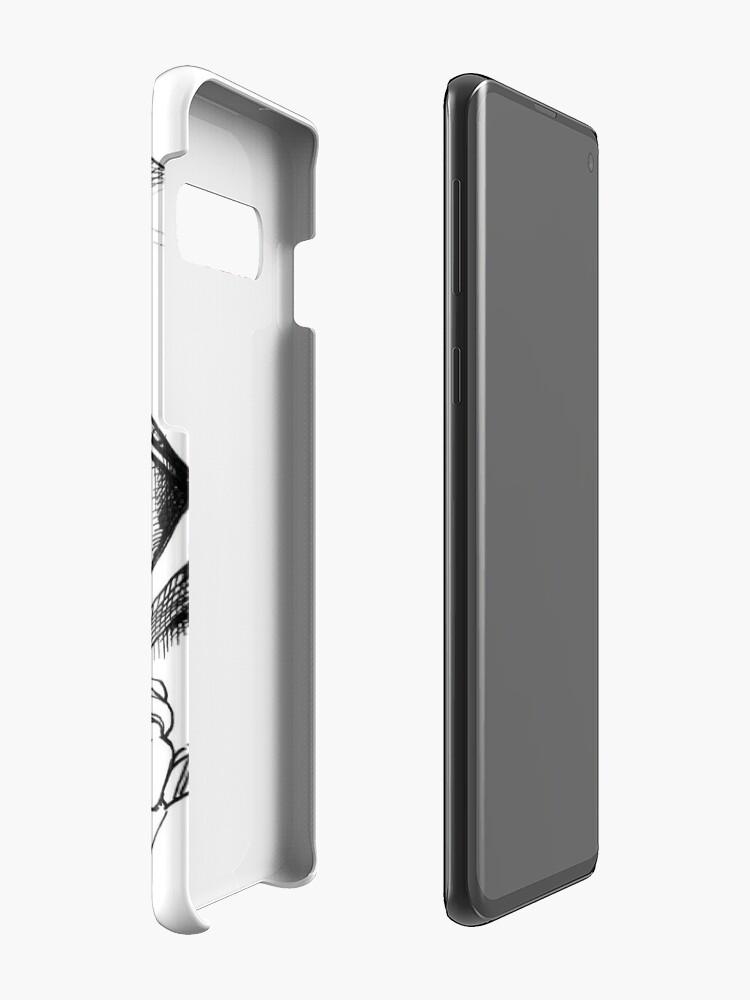 Alternate view of Laika, space traveler Case & Skin for Samsung Galaxy