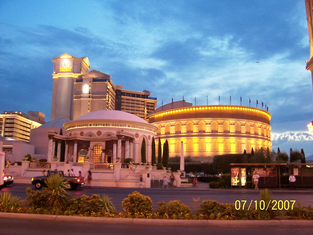 Outside Ceasar's Palace, Las Vegas by HungarianGypsy