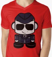 Aim High Air Force Hero'bot 1.0 Men's V-Neck T-Shirt