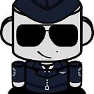 Aim High Air Force Hero'bot 1.0 by Carbon-Fibre Media