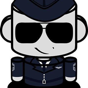 HERO'BOT Pilot Wilbur Orville  by carbonfibreme