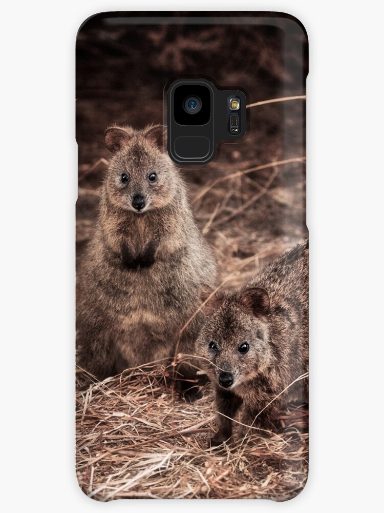 Quokkas - Western Australia (Galaxy Case) by Dave Catley