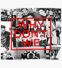 Why Don't We Collage Cover Poster