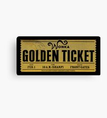The Golden Ticket Canvas Print