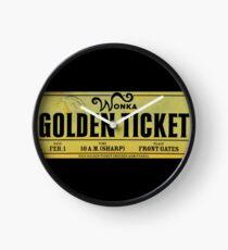 The Golden Ticket Clock