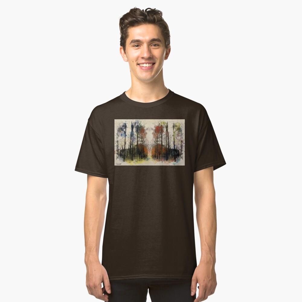 An Autumn Walk-through Classic T-Shirt