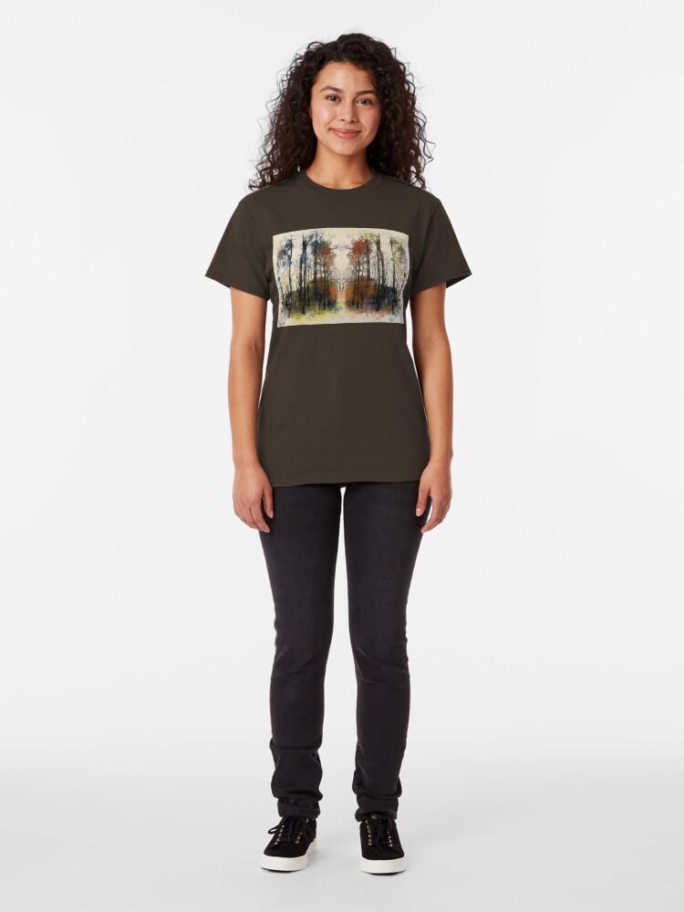 Alternate view of An Autumn Walk-through Classic T-Shirt