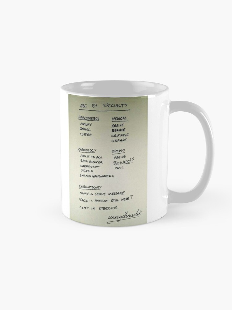 ABC by specialty | Mug