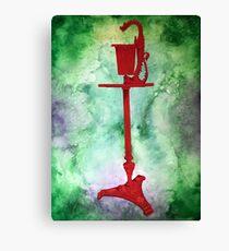 Dragon Ashtray Still Life Canvas Print