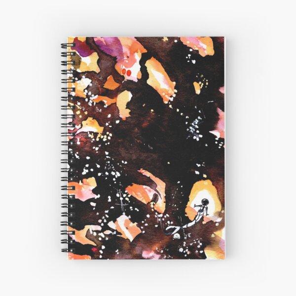 Microscopic Spiral Notebook