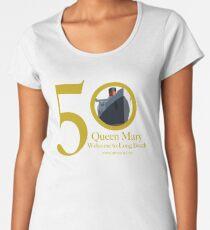Queen Mary 50th Anniversary Women's Premium T-Shirt