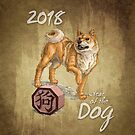 2018 - Year of the Dog by Stephanie Smith