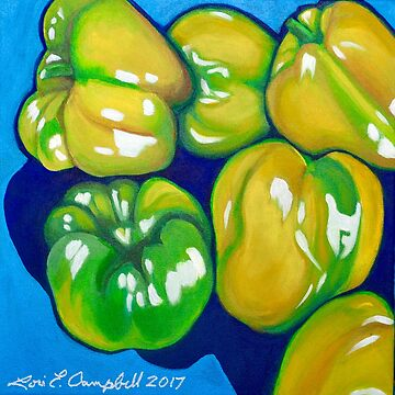 Yellow Peppers by LottiDa