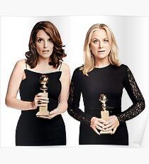Amy and Tina Golden Globes Poster