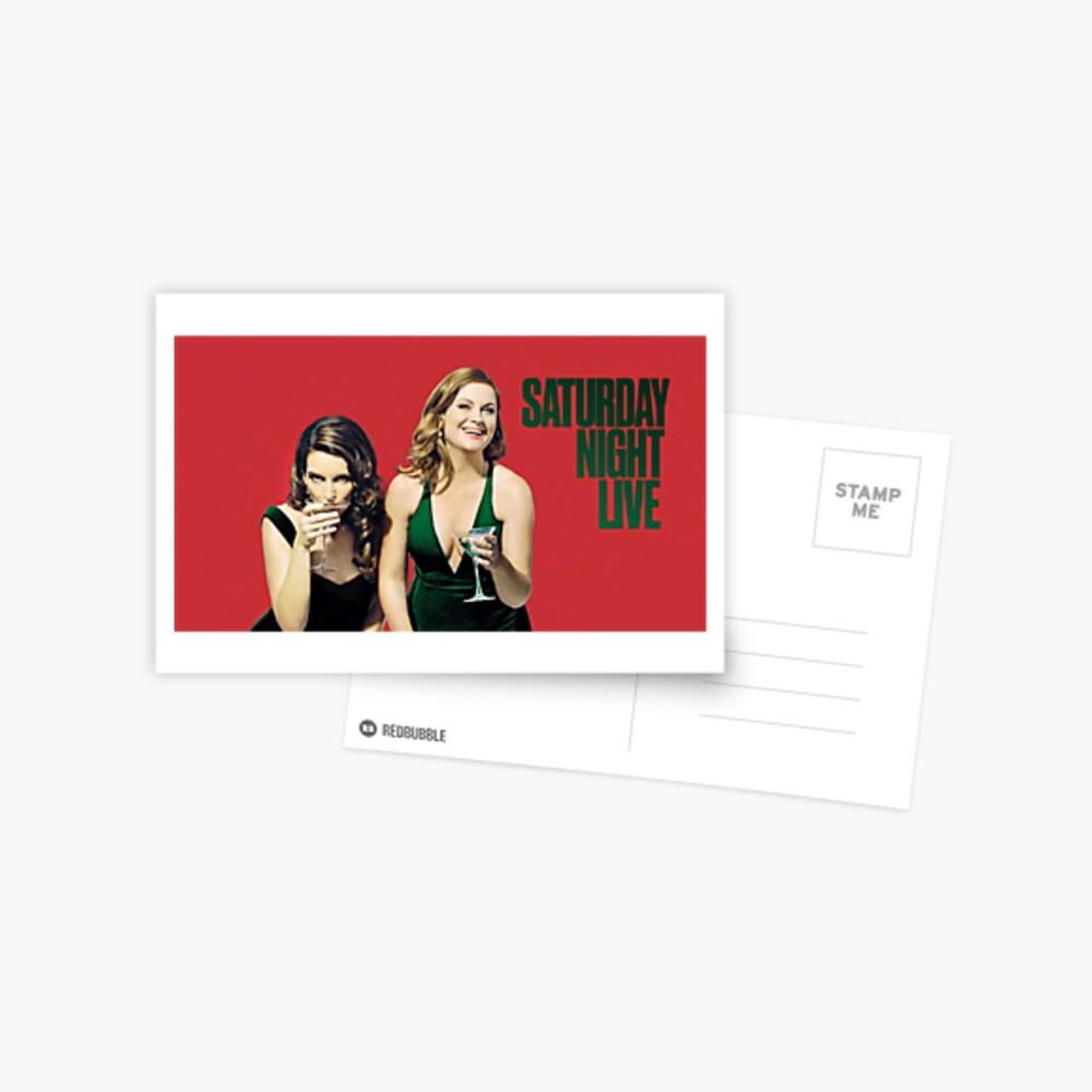 Amy und Tina SNL Postkarte