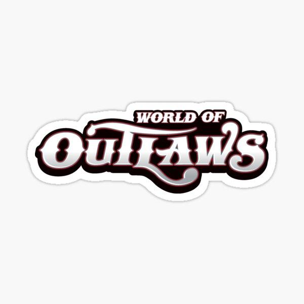 World of Outlaws Logo Sticker