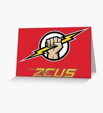 The Zeus Greeting Card