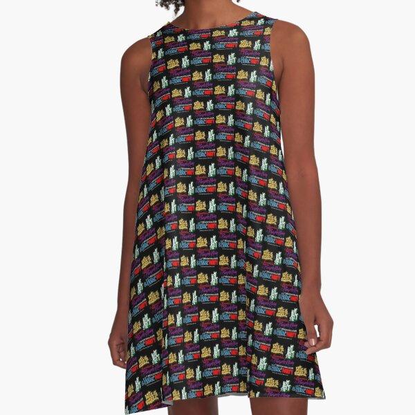 And...Retro Forever Fresh 1984 A-Line Dress