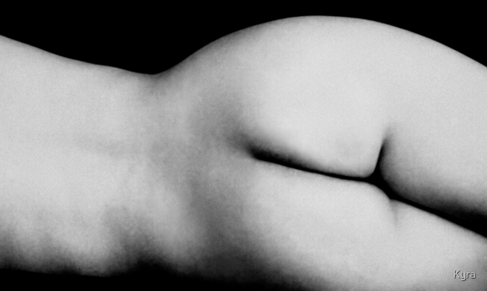 Landscape Nude by Kyra  Webb