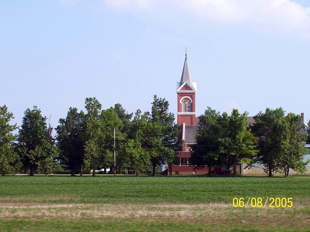 Church in Kansas by HungarianGypsy