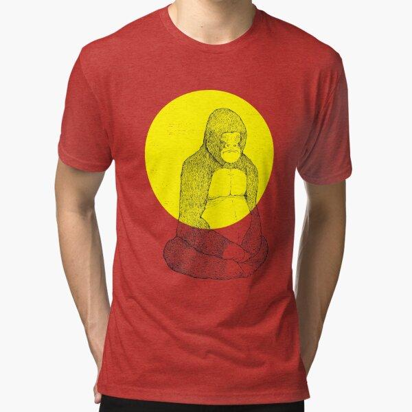 Gorilla Meditation Tri-blend T-Shirt