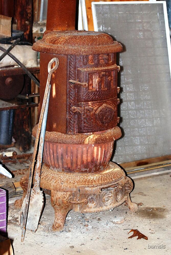Old Stove by barnsis