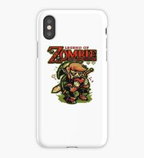 LEGEND OF ZOMBIE TEE SHIRT iPhone Case/Skin