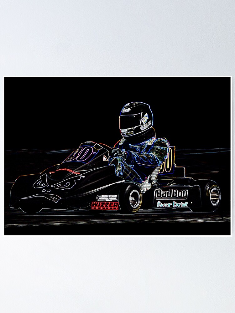 Alternate view of Karting  Poster