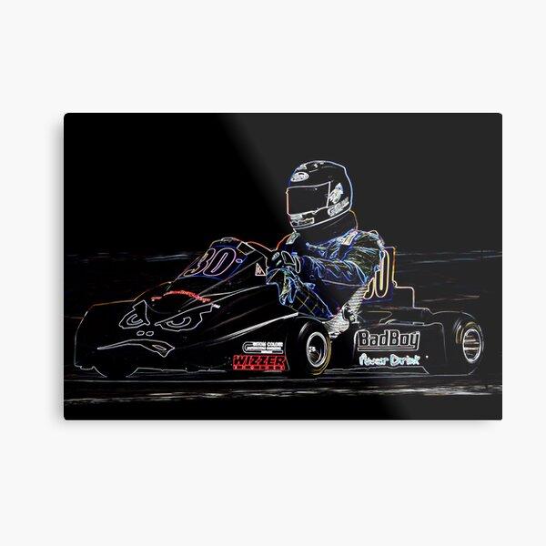 Karting  Metal Print